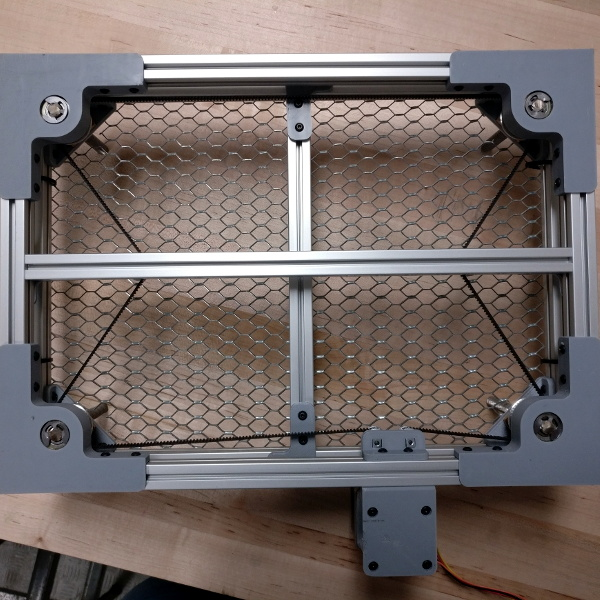 K40 Gets A Leg Up With Open Source Z Table | Hackaday