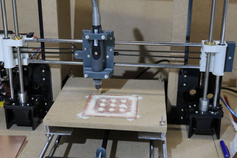 A 3D Printer To PCB Miller Conversion