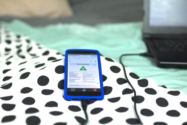 A Nexus 5 Smartphone Running PostmarketOS