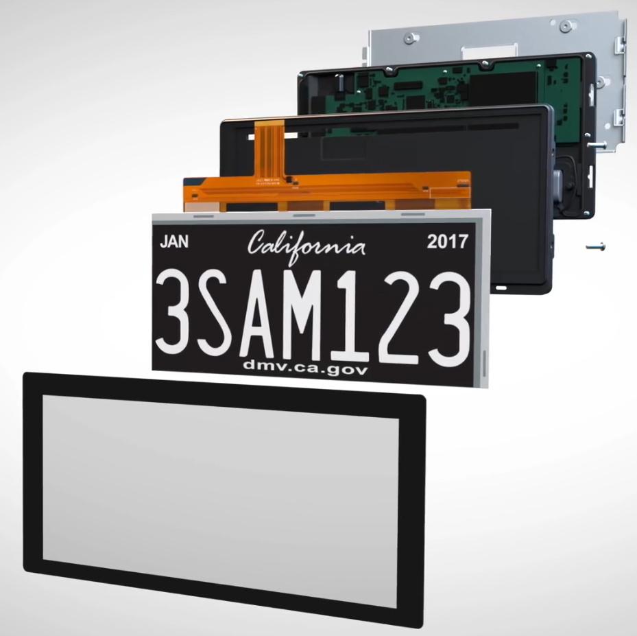 Black License Plate Frame THE SECOND AMENDMENT AMERICA//HOMELAND SECURITY Auto