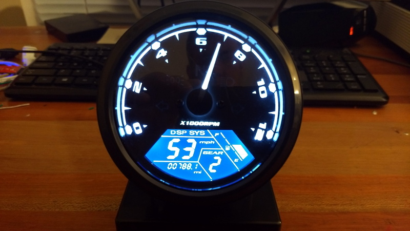 Arduino Tachometer Clock Fires On All Cylinders   Hackaday