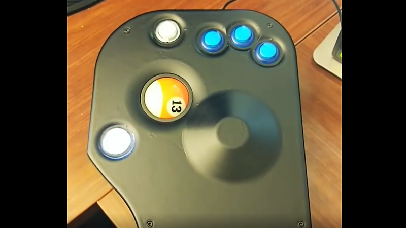 Billiard Ball Finds A New Home In Custom Trackball Mouse | Hackaday
