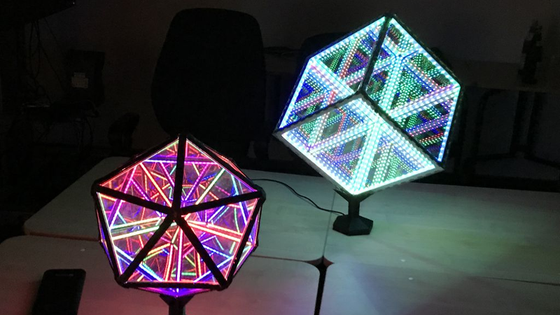 Infinity Icosahedron Is Difficult To Contemplate Even