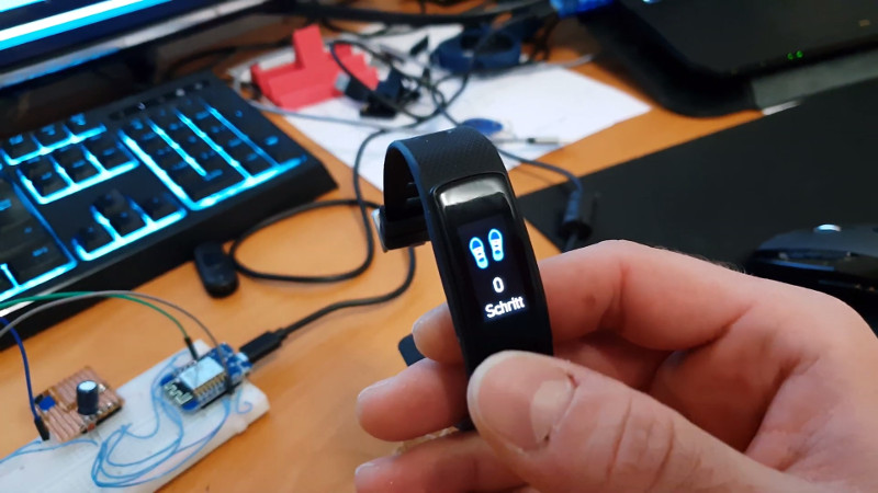 Custom Firmware For Cheap Fitness Trackers | Hackaday