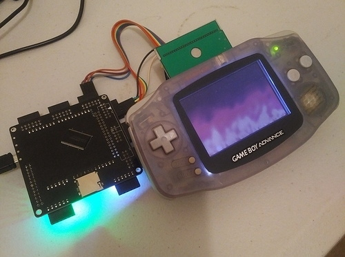 FPGA Brings Arduboy To The Game Boy Advance | Hackaday