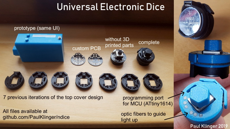 Be Ready To Roll With Universal Electronic Dice Hackaday