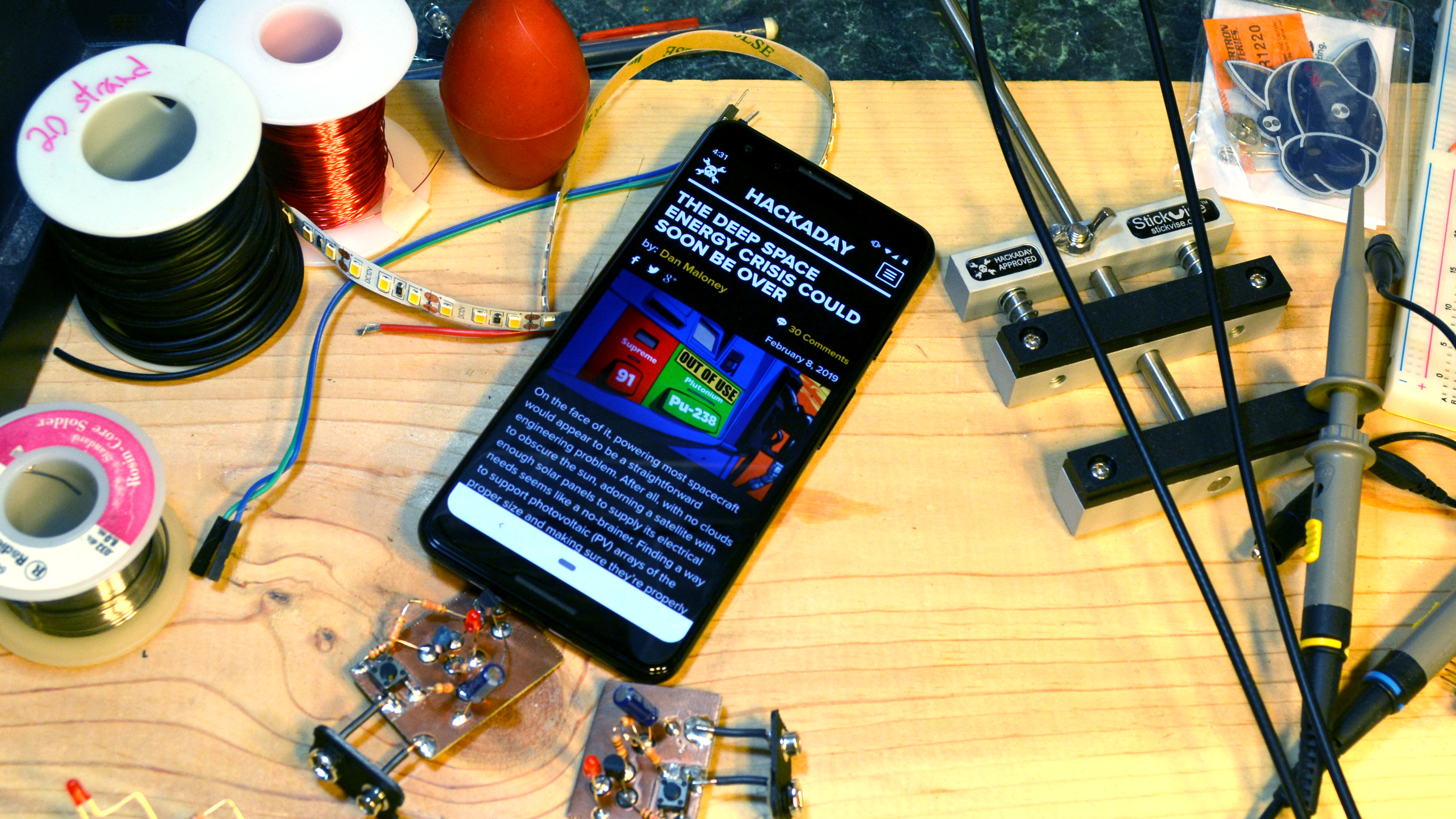 Now Hackaday Looks Great On The Small Screen Too   Hackaday