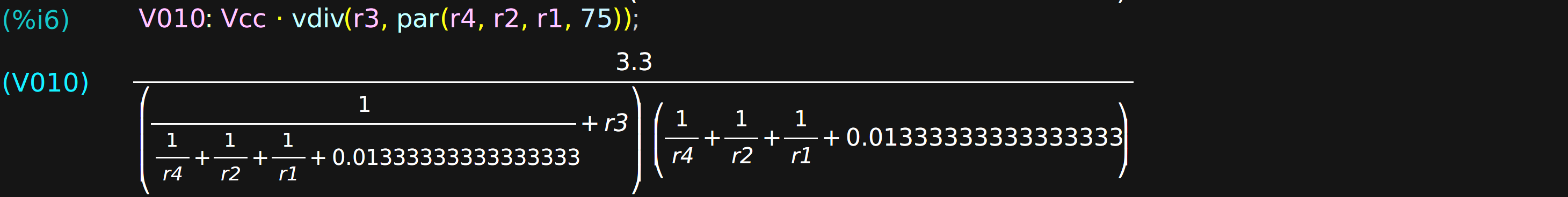computer algebra for electronic design hackaday