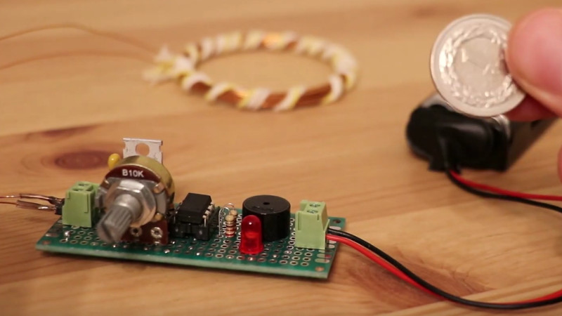 An ATtiny Metal Detector | Hackaday