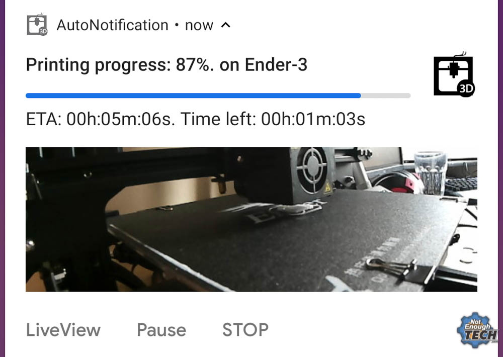 Monitor Your 3D Printer With Node-RED And Tasker | Hackaday