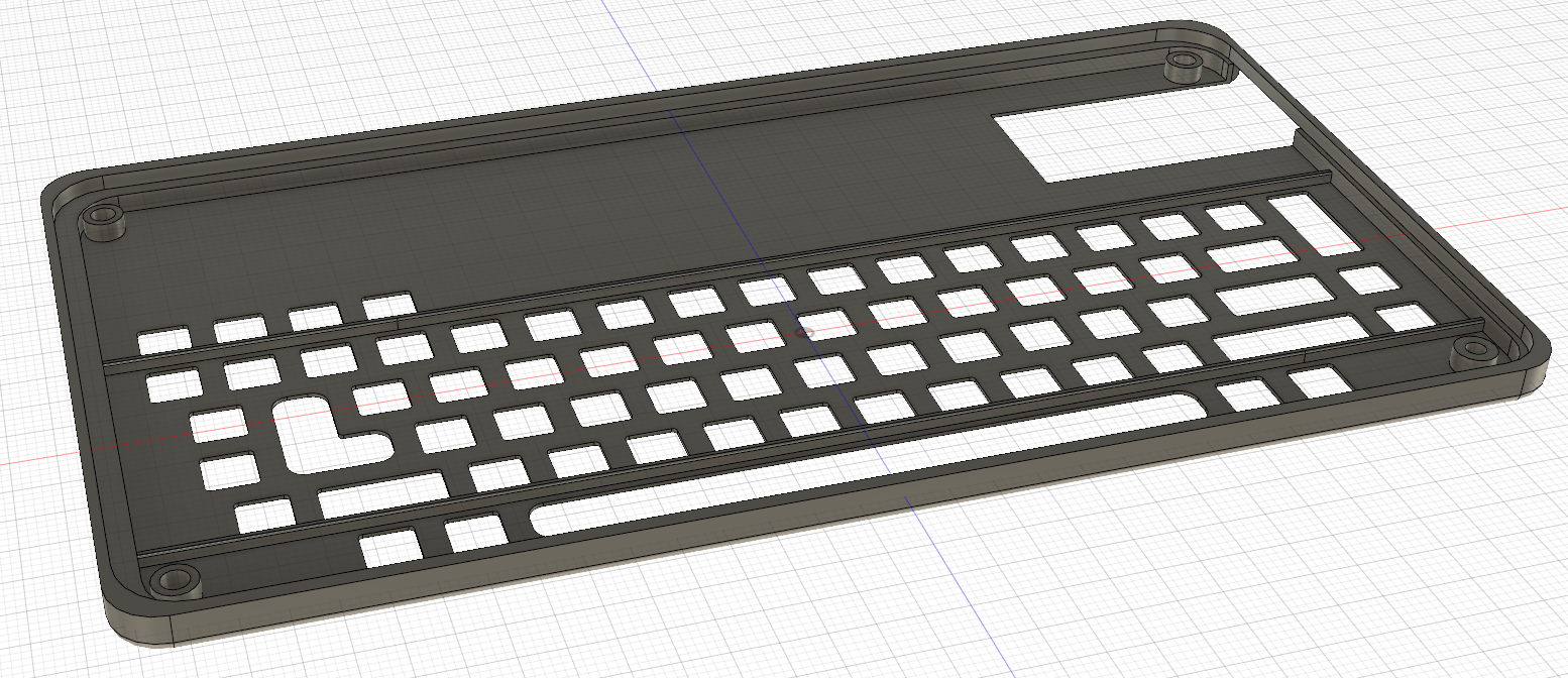 5295891cf04 This model was sent off to Shapeways, and the entire thing assembled. The  firmware running on the Teensy just uses the standard Keypad library and  presents ...