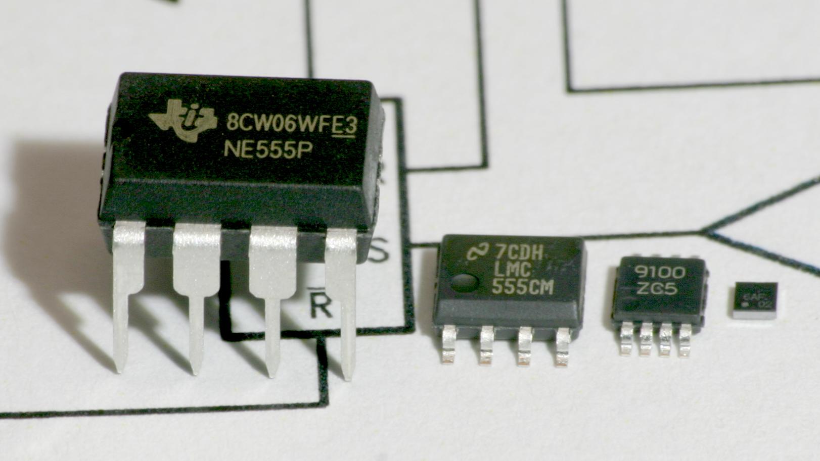 Electronic Circuit Using 555 Timer