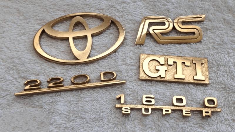 Casting Car Emblems Via 3D Printing | Hackaday