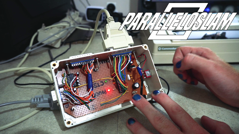 Arduino Converts Serial To Parallel: The Paralleloslam | Hackaday