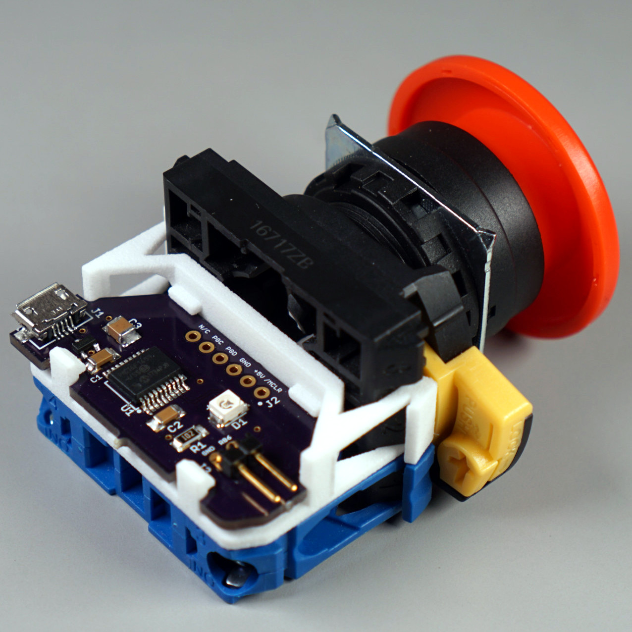 Side Driving Lights Light Cnc Machined Push Button Switch 12 Volt