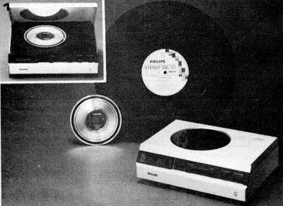 It isn't only audio that's improved in quality in the digital age, a magazine-quality promotional shot of the Philips prototype from Elektuur magazine, from Elektuur 188, June 1979. (Public domain mark 1.0)