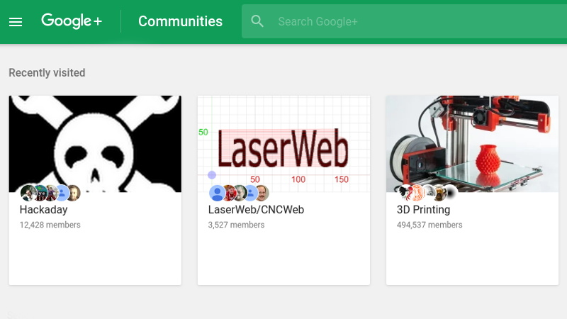 Google Communities Wont Go Down Without A Fight Hackaday