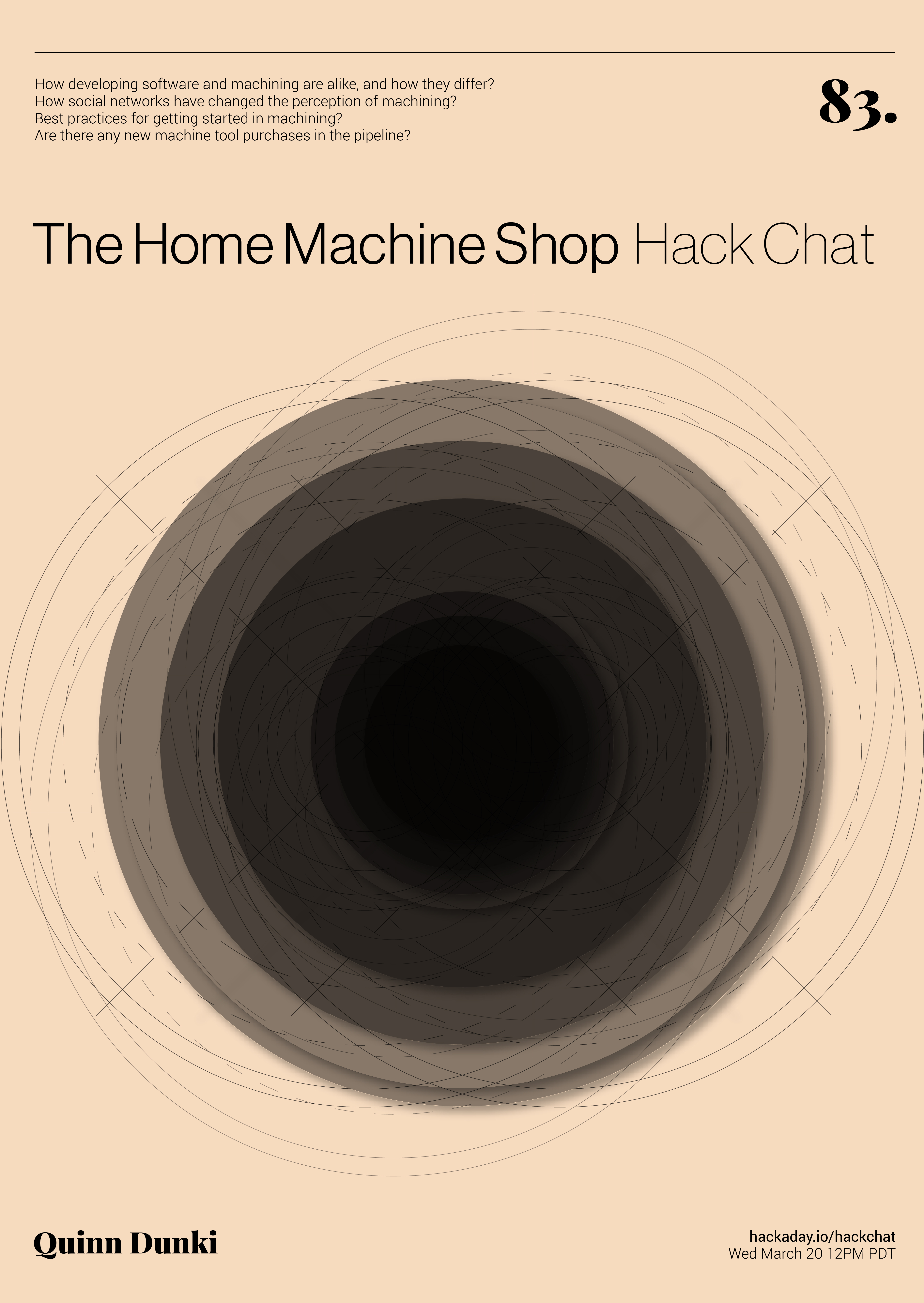 Hack Chat: The Home Machine Shop With Quinn Dunki | Hackaday