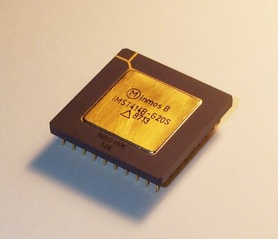 An Inmos T414 transputer chip. Lefdorf (CC-BY-2.5)