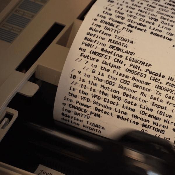 Reinking Dot Matrix Printer Ribbons Because It's Fun, Okay
