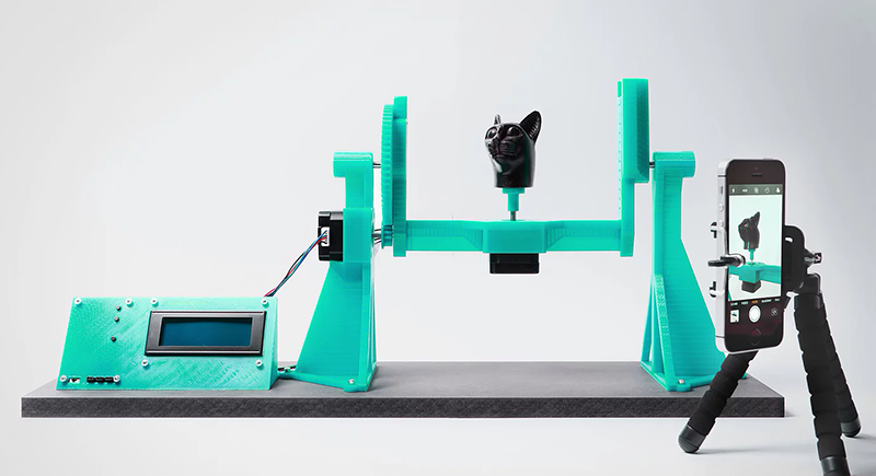This 3D Scanner Is Your Ticket To Photogrammetry