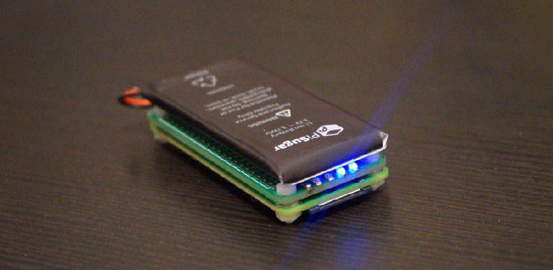 Portable Pi Power Pack Makes For Petite Projects | Hackaday