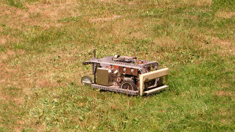 Mowerbot Keeping The Lawn In Check Since 1998