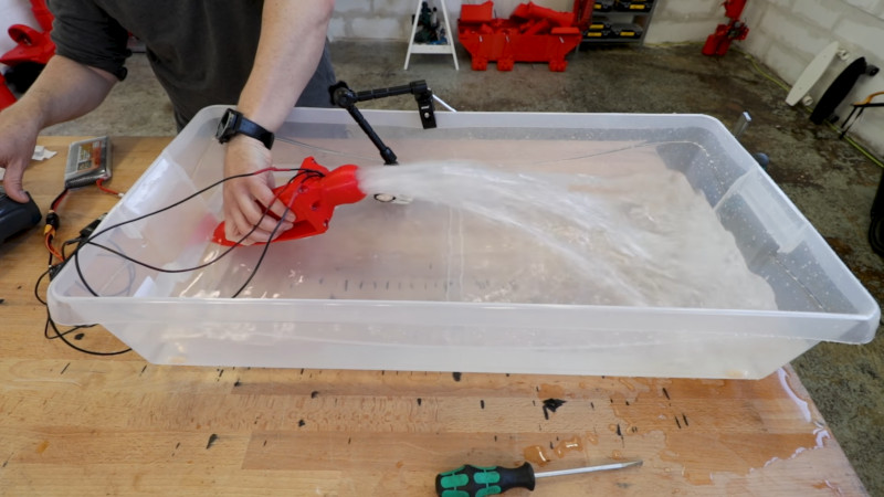 3D Printing A Water Jet Drive   Hackaday