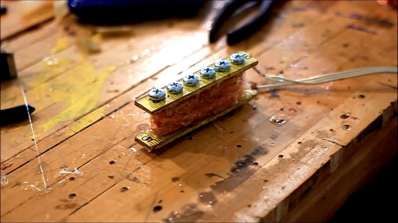 building your own guitar pickup from scrap hackaday. Black Bedroom Furniture Sets. Home Design Ideas