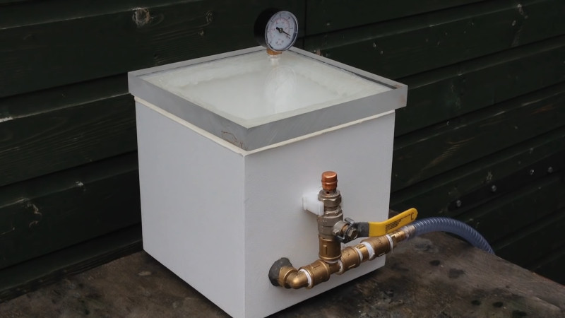 Build Your Own Vacuum Chamber For