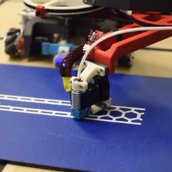 hackaday.com - Donald Papp - Watch These Two Robots Cooperate On a 3D Print