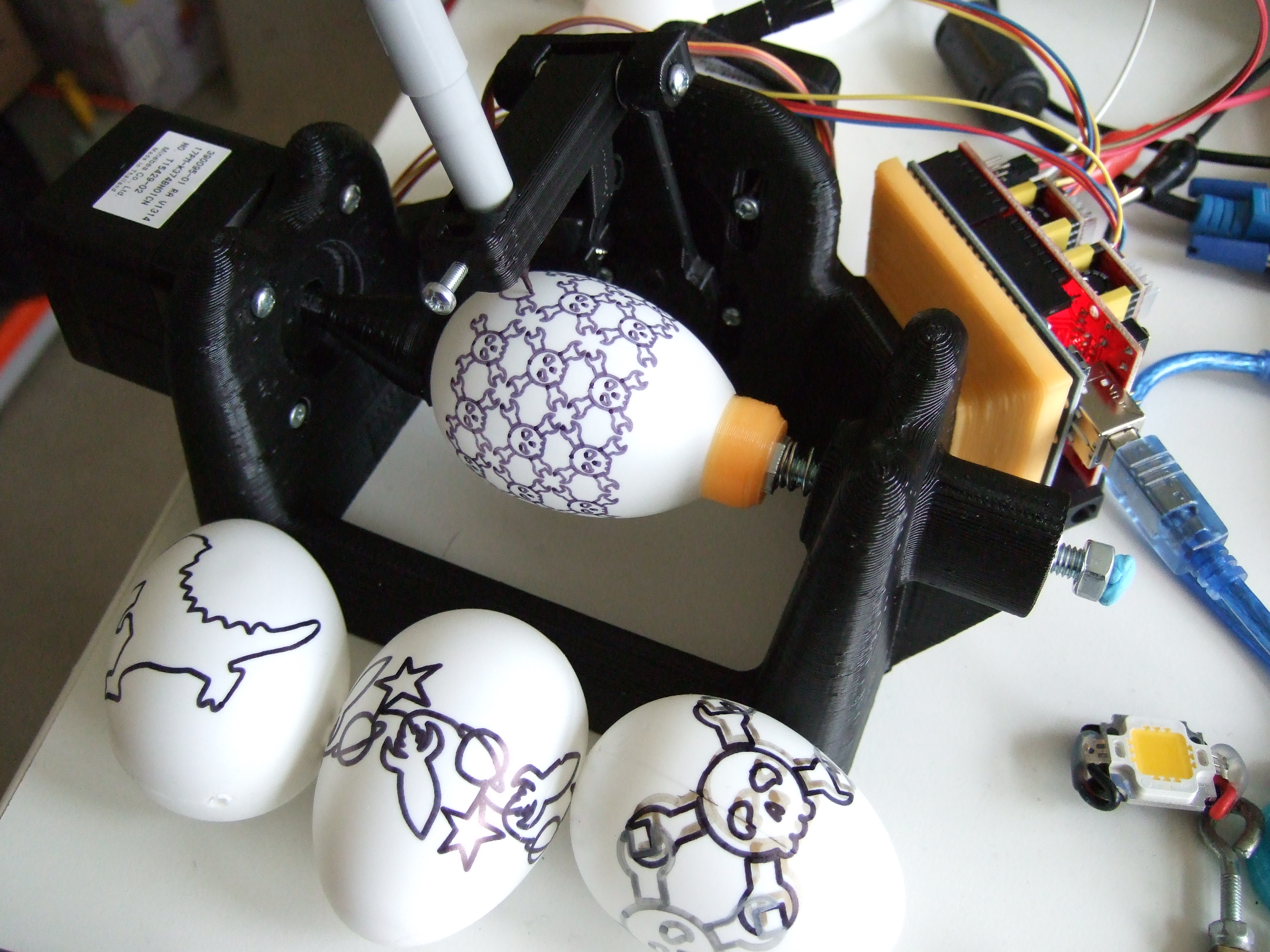 What Can You Learn From An Eggbot? | Hackaday
