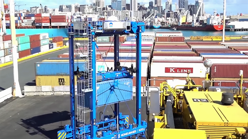 Automate The Freight: Shipping Containers Sorted By Robot