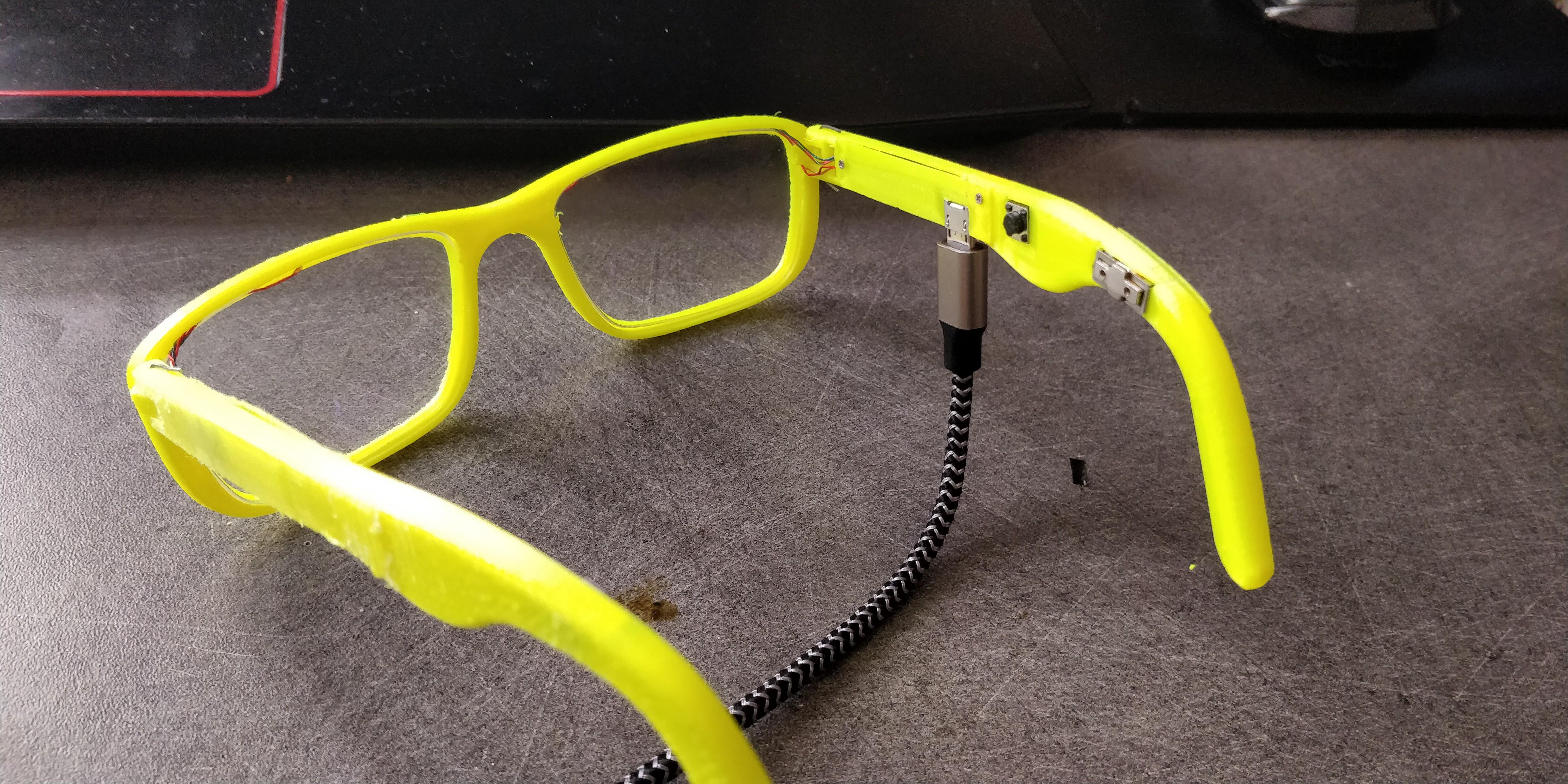 Bone Conducting Headphones Built Into Eye Glasses Hackaday