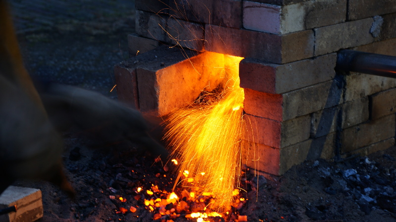 Backyard Steel Furnaces - House of Things Wallpaper