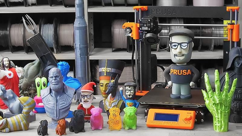 Prusa Launches Their Own 3D Model Repository | Hackaday