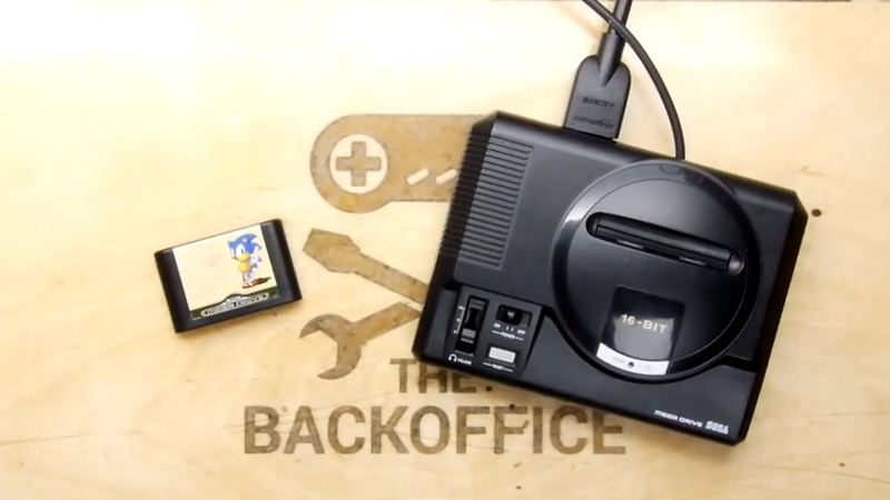 Raspberry Pi Breathes Life Into A Scale Model SEGA | Hackaday