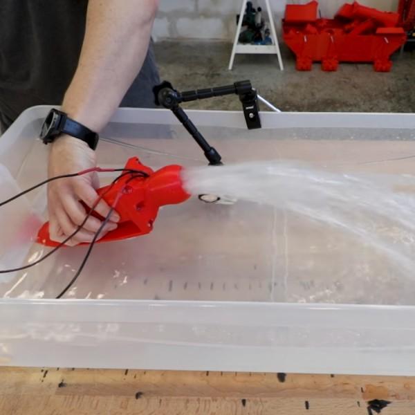 3D Printing A Water Jet Drive | Hackaday