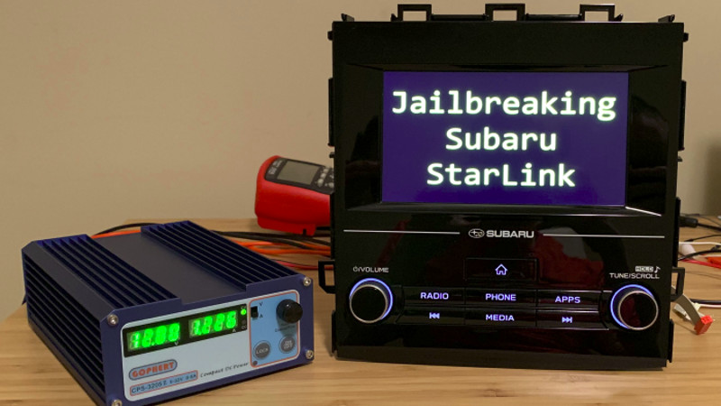 Rooting Your Ride: Jailbreaking A Subaru QNX | Hackaday