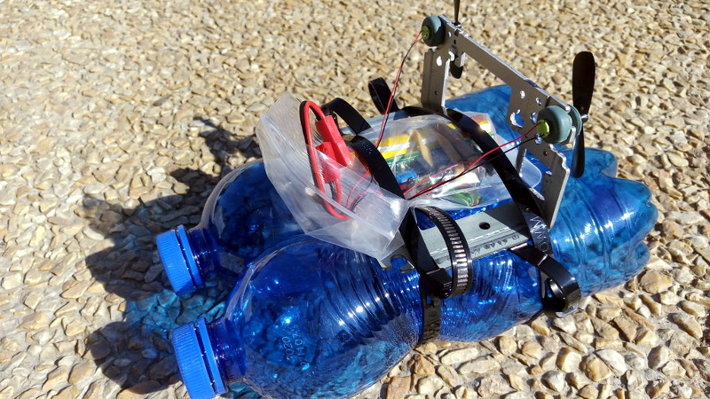 Building An RC Air Boat from Garbage