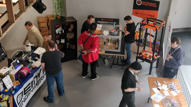 D Printing Exhibition China : This british d printing meetup is on the rise hackaday