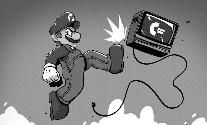 That Super Mario Bros  C64 Port Was Too Good For This World | Hackaday