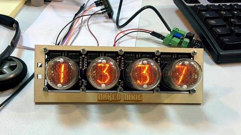 Web Interface Controls Nixie Tube Clock | Hackaday