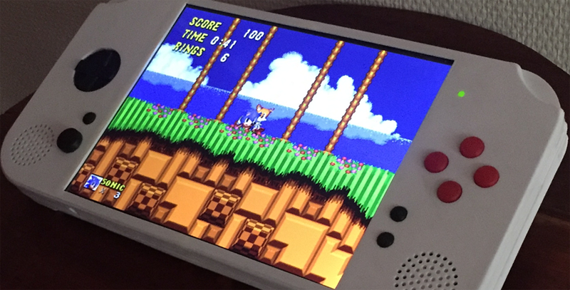 The Raspberry Pi Portable Console You Wish You Had | Hackaday
