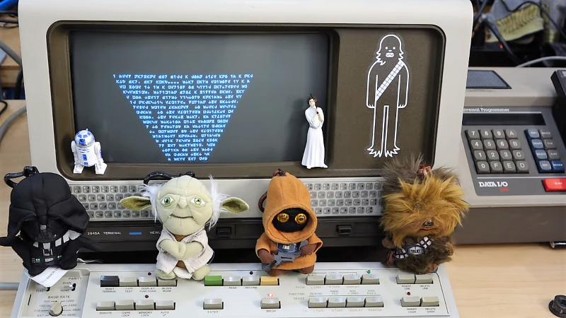 Vintage Terminal Converted For Galactic Use In Time For May The Fourth