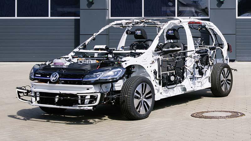 Volkswagen Egon Is A Rolling Electric Car Circuit Sculpture