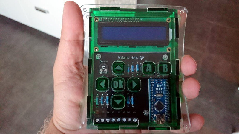 One Arduino Handheld to Rule Them All