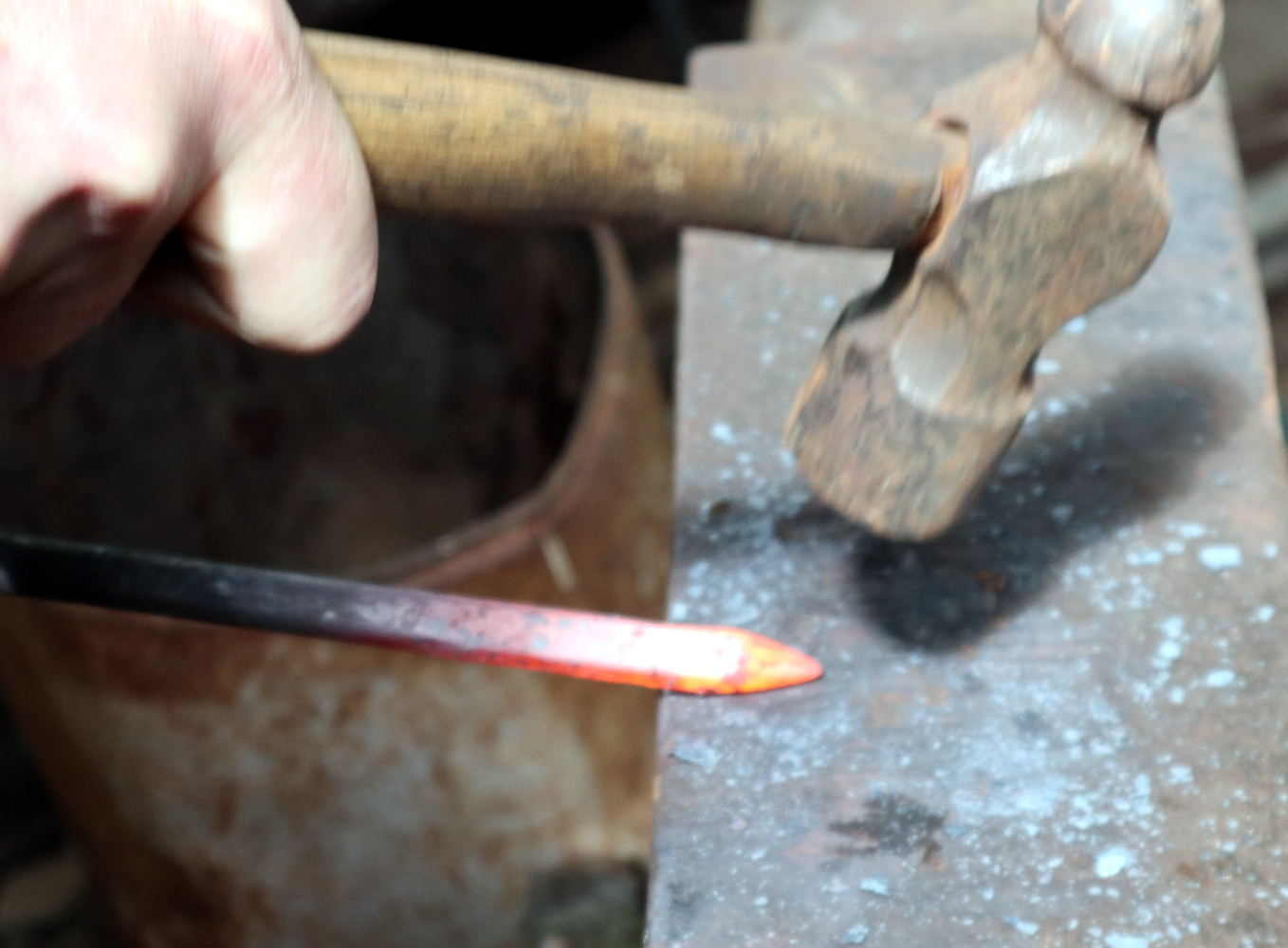 Blacksmithing For The Uninitiated: Your First Time At The