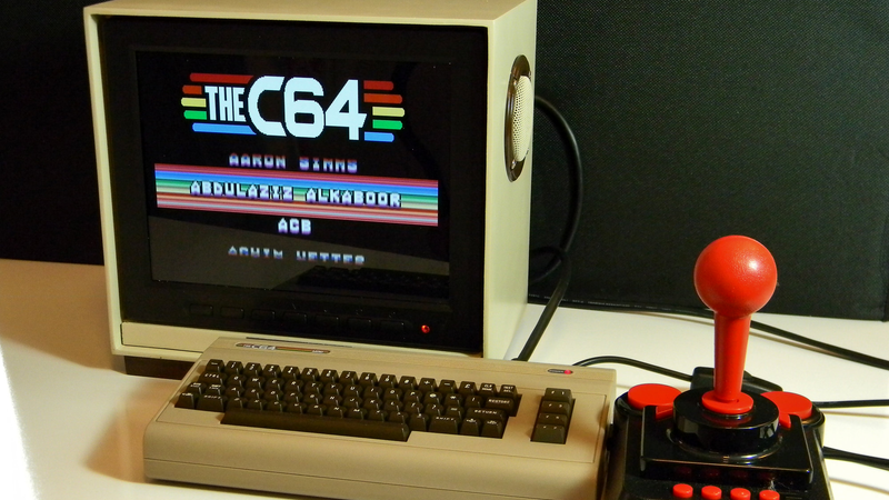 Custom Monitor For Pi-Powered Commodore 64 | Hackaday