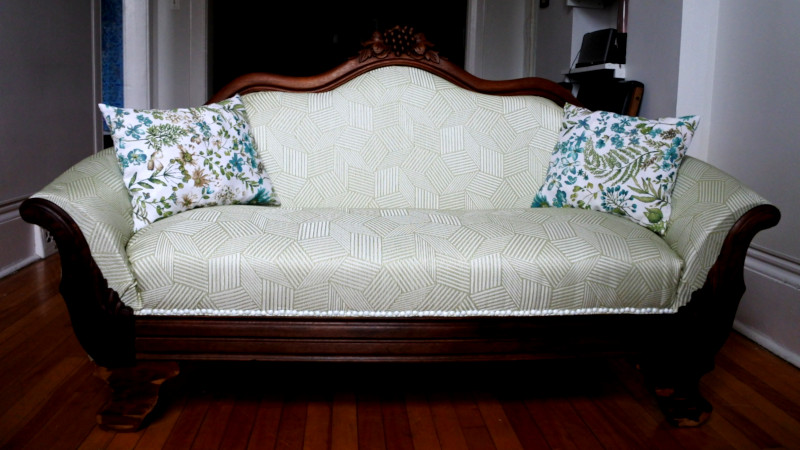 Reupholstering A Couch With No Prior Experience